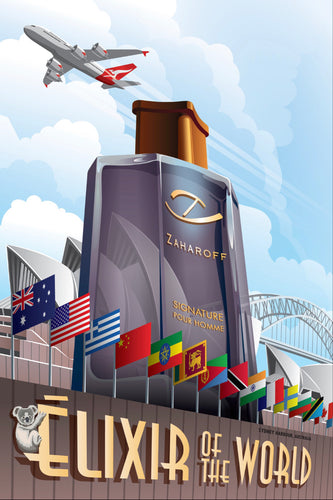 ÈLIXIR OF THE WORLD Poster Australia Edition (WAITLIST)