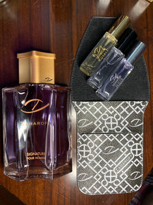 GIFT SET! 4.0 oz Zaharoff Signature Pour Homme + Travel Set Trio!