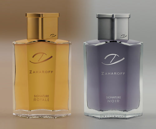 Zaharoff Signature NOIR and ROYALE EDP - 2 Pack
