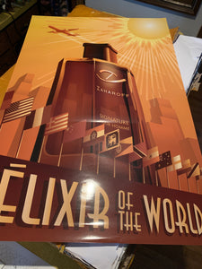 ÈLIXIR OF THE WORLD Poster United States Edition