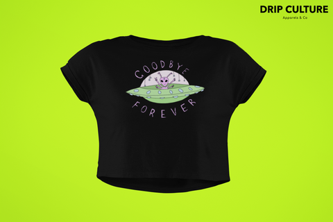 Alien Goodbye Forever Crop-Top