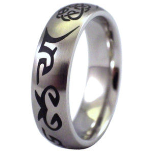 Nordic Viking Celtic Knot Stainless Steel Ring