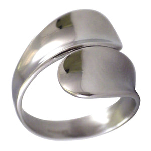 Women's Simple Spoon Stainless Steel Fashion Ring