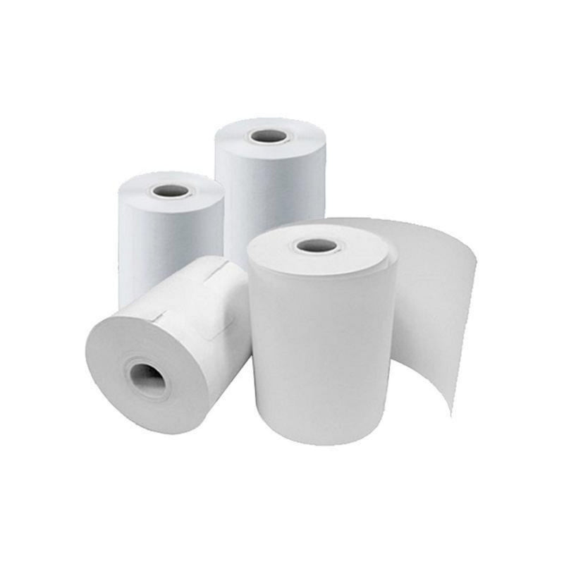 "Small Pack, Bond Receipt Paper, 3""(57Mm)X165'(50.29M), 0.45"" Core, 2.89""(73.41Mm) Od, White, 10 Rpc, Priced Per Case"