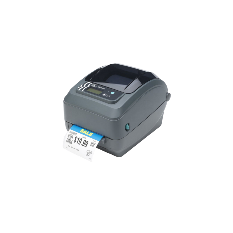 Zebra Ait, Gx420T, 203 Dpi, Thermal Transfer, Epl And Zpl, Usb, Serial, 10/100 Ethernet, 6Ft Usb Cable Included