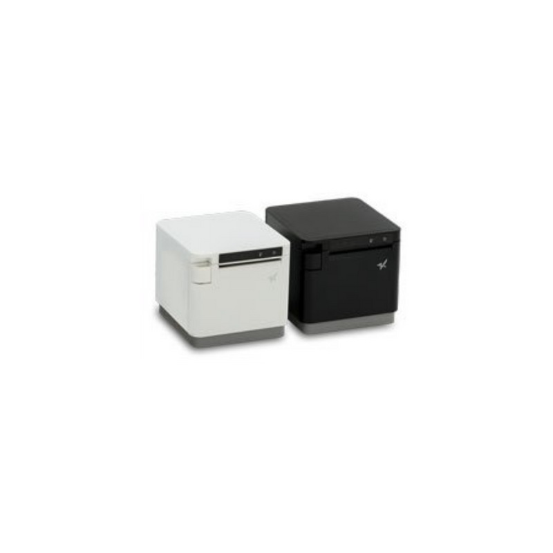 "Star Micronics, mC-Print3, Thermal, 3"", Cutter, Ethernet (LAN), USB, Lightning, Bluetooth, CloudPRNT, Peripheral Hub, Ext PS Included"