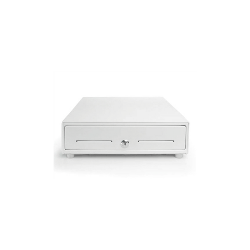 APG, Vassario, Cash Drawer, White, 16x16, CD-101A Cable Included