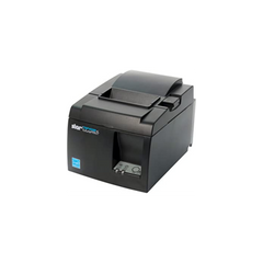 Star Micronics TSP143IIIU USB Thermal Receipt Printer with Device and Mfi USB Ports, Auto-cutter, and Internal Power Supply - Gray