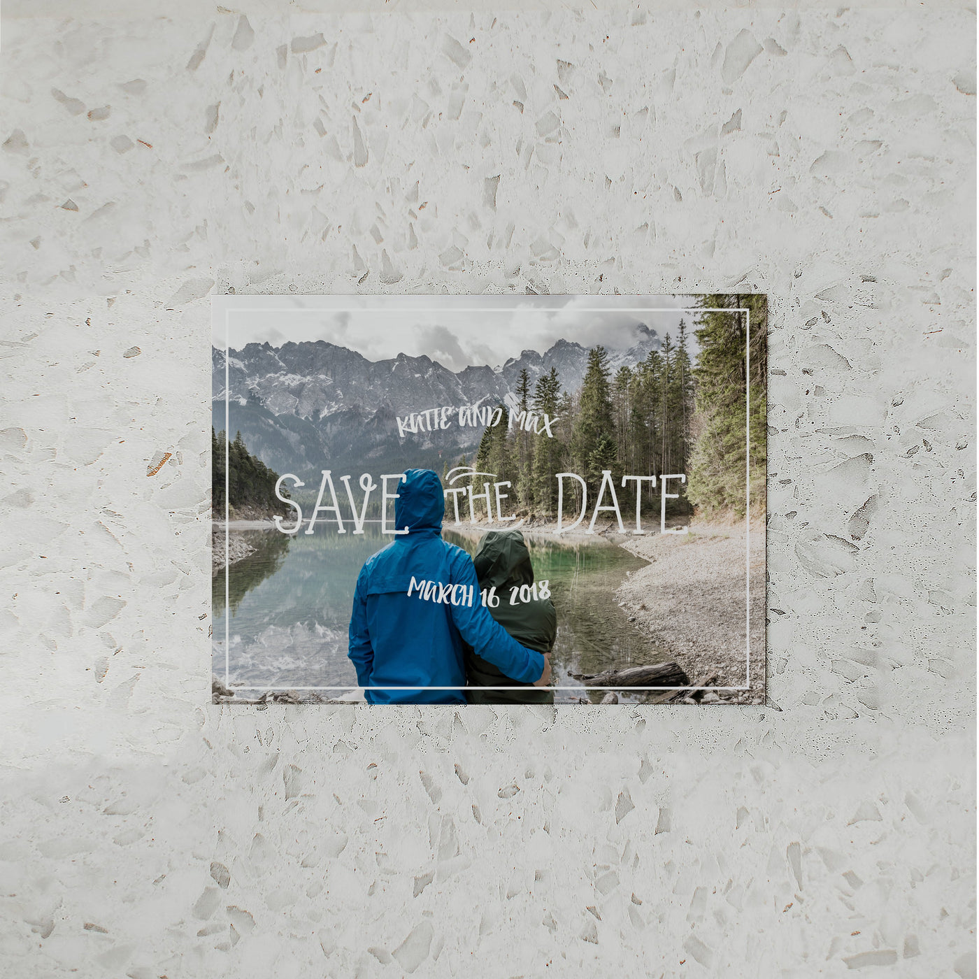 NATURE SAVE THE DATE