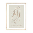 CUSTOM PREGNANCY NATURAL PRINT