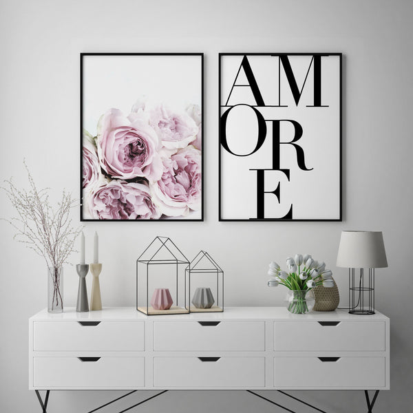 AMORE PEONY GALLERY WALL