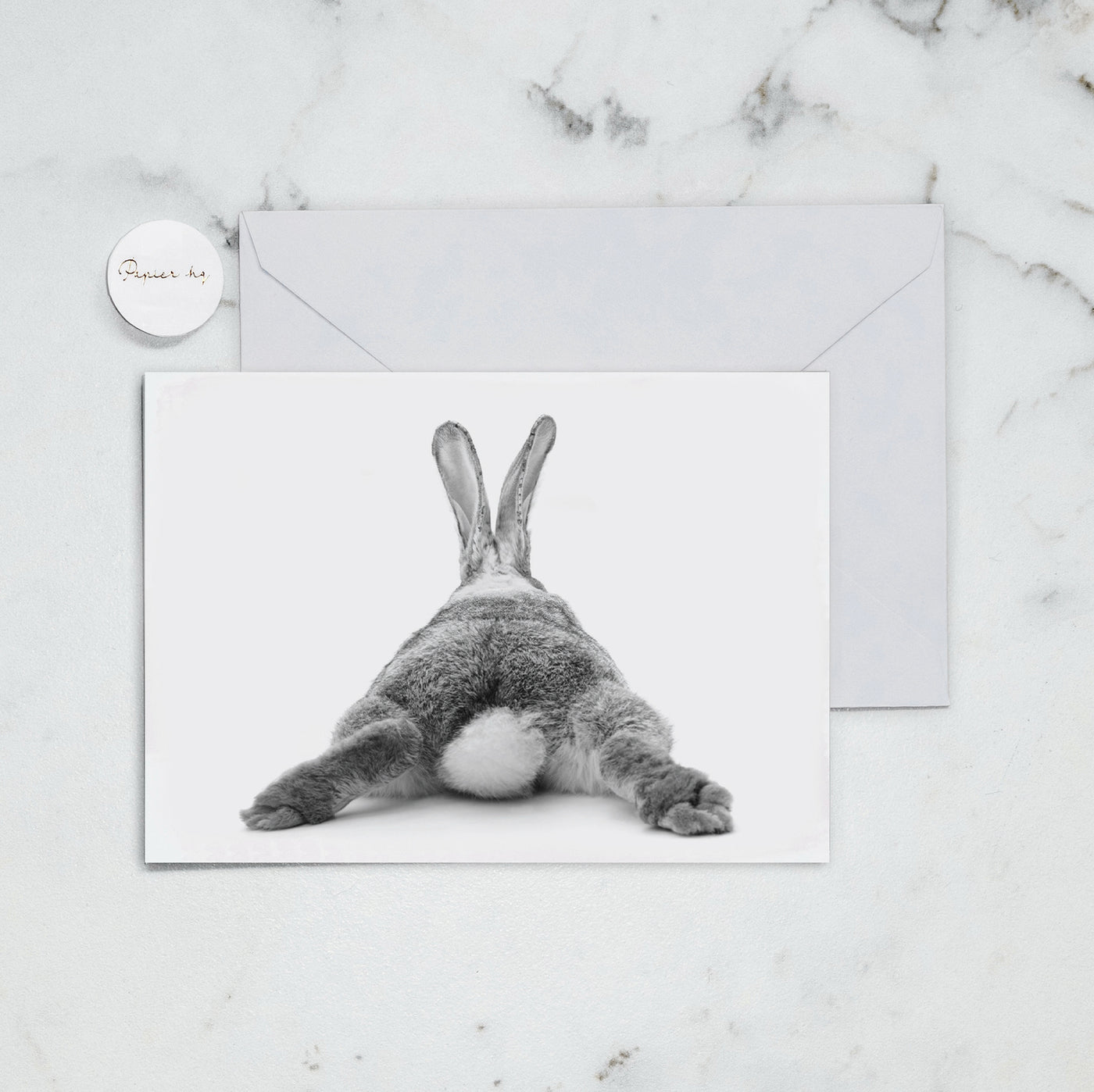 BUNNY BUM GREETING CARD