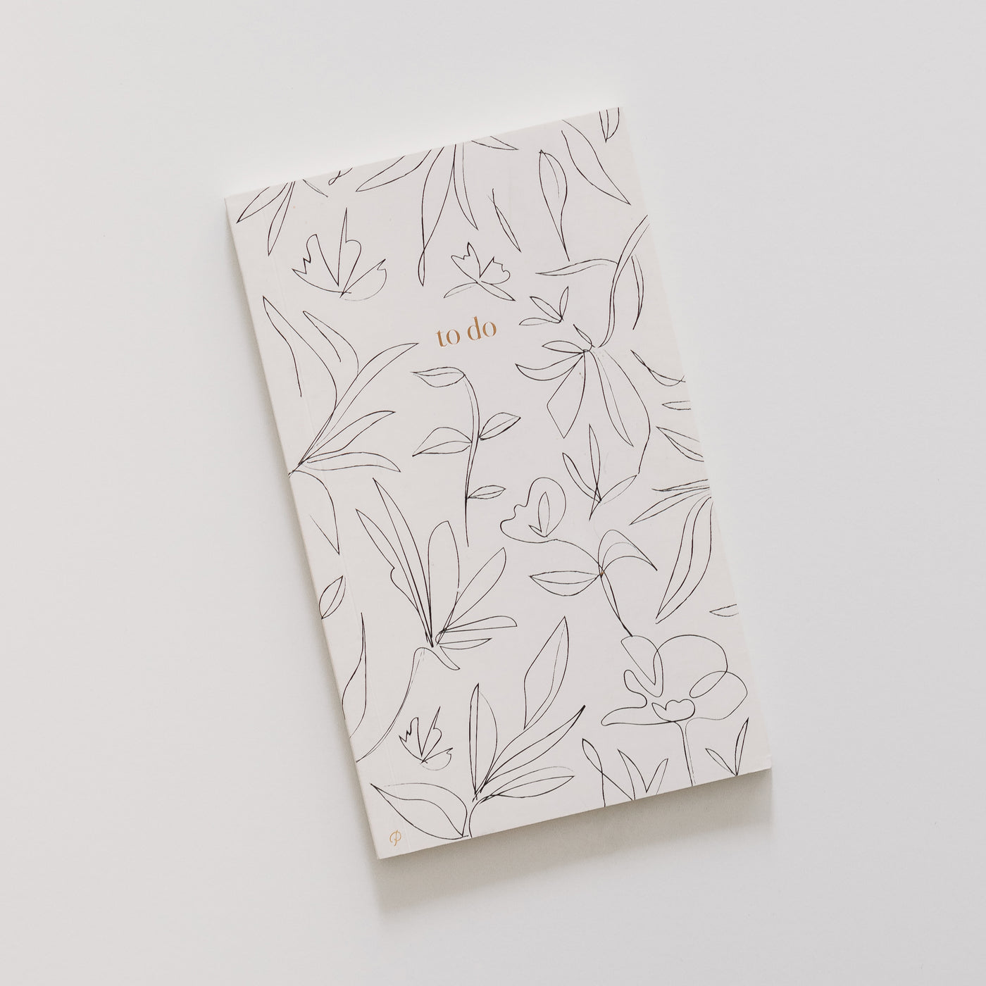To do floral notebook