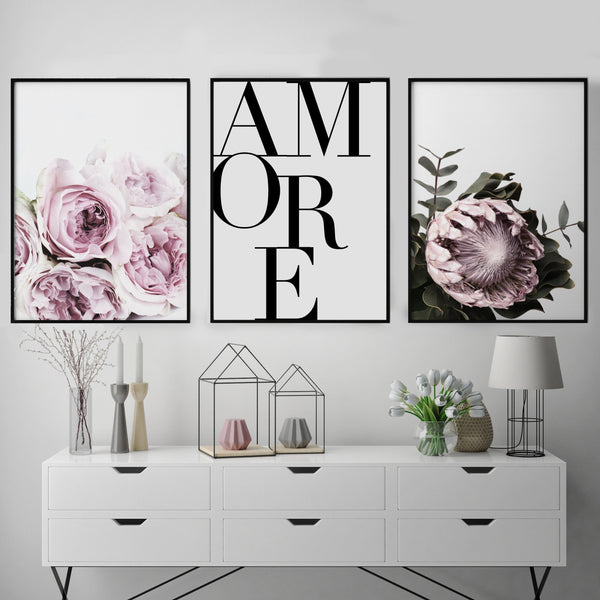 AMORE TRIO GALLERY WALL