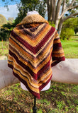 Autumnal Triangle Shawl