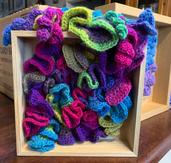 Free Form Crochet Wall hanging