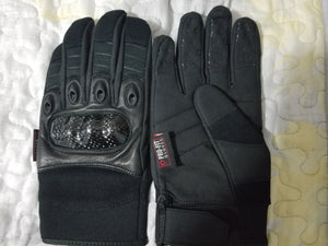 Gant de cuirs Moto Noir option 1