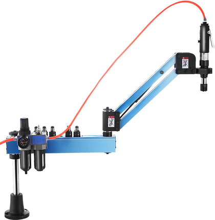 M3-m12 Vertical Type Pneumatic Tapping Machine Flexible Arm 1000mm