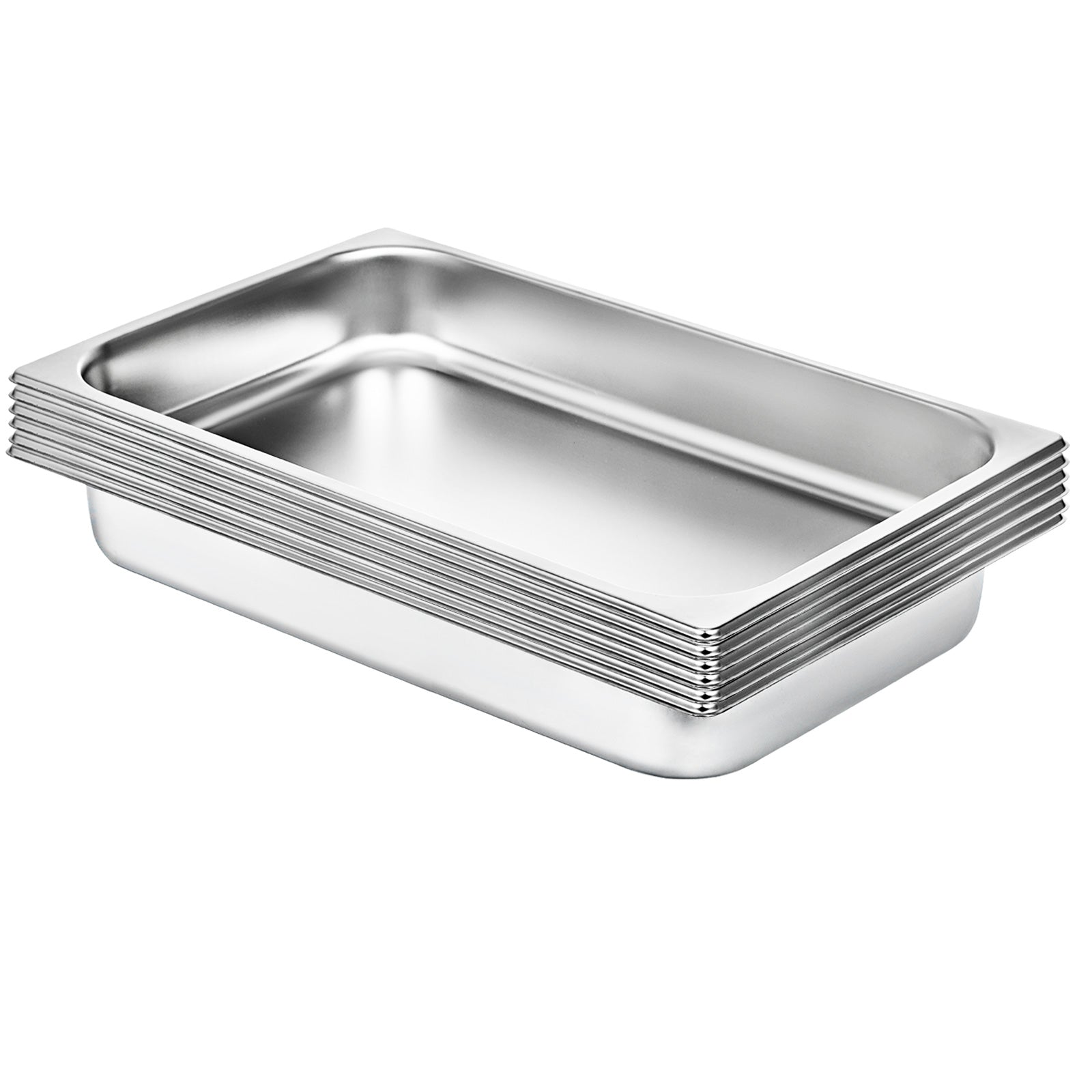 6x Gastronormbehälter Gn1/1 Tiefe 65mm Chafing Dish Gn Behälter Saladette