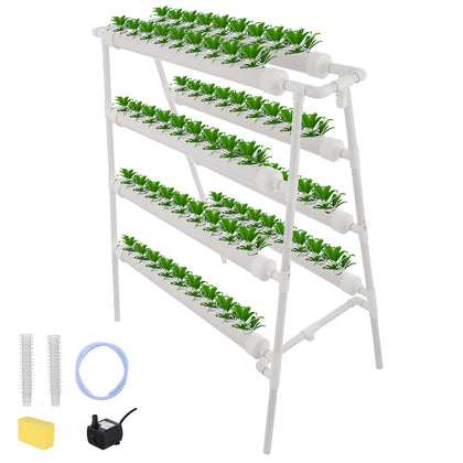 Hydroponic Grow Kit 72 Plant Sites 4 Layer Vegetables 72 Plant Sites Cabbage