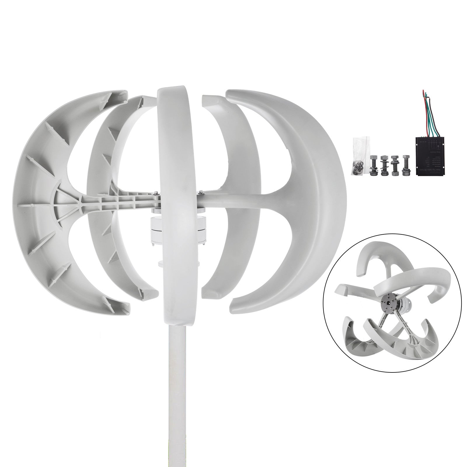 400w Lantern Wind Turbine Generator Fastship Clean Energy Effective