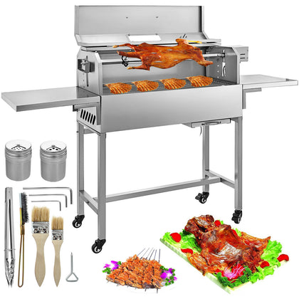 Charcoal Grill BBQ Grillwagen Holzkohlegrill