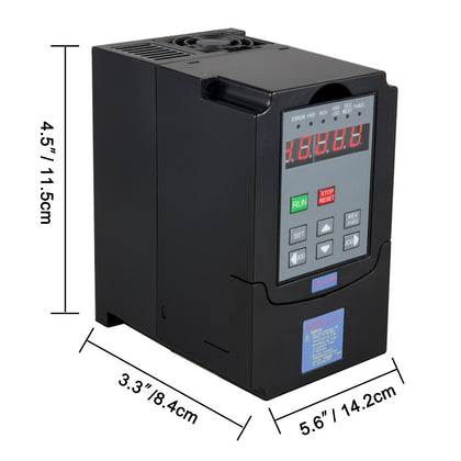 1,5kw 2hp Frequenzumrichter Variable Frequency Driver Inverter Vfd Capability