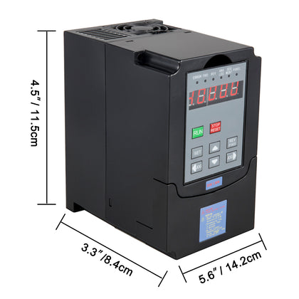 3kw 4hp Frequenzumrichter Variable Frequency Driver Single Speed Vfd Vsd Control