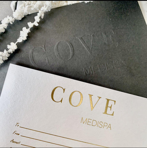 Gift Certificate-Cove Medispa-Skincare-treatments-Australia-Perth-Gift Card, Gift Certificate, Gift Idea, Gift Voucher-Shopping for someone else but not sure what to give them? Give them the gift of great skin with a Cove Medispa gift certificate. Gift cards are delivered by email and contain instructions to redeem them at checkout which can be redeemed on service only. *Not including Injectables services Our gift cards have no additional processing fees and cannot be redeemed for cash. 3 year e
