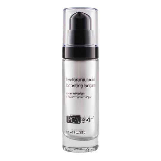 PCA Hyaluronic Acid Boosting Serum-Cove Medispa-Skincare-treatments-Australia-Perth-Description: Plump, hydrate & smooth skin with this advanced hyaluronic acid formulation. This ingredient blend hydrates the skin in multiple ways for optimum results. Directions: After cleansing,apply to the entire face and neck in the morning and evening for maximum skin hydrationand plumping. Follow with the appropriate PCA SKIN® SPF product in the daytime and moisturizer in the evening.