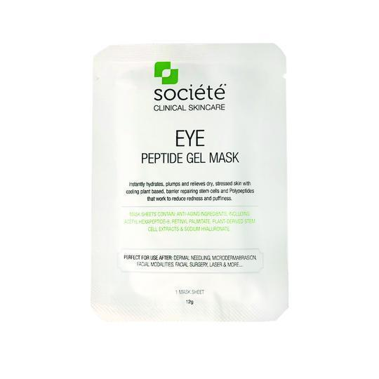 Societe Rejuvenating Gel Mask-Cove Medispa-Skincare-treatments-Australia-Perth-Description: Developed for cosmetic use to calm and moisturize the skin after micro-needling, surgical procedures, post injection, and/or any ablative treatments KEY BENEFITS: Reduces the appearance of redness & puffiness with refreshing, cooling effect. KEY INGREDIENTS: Acetyl Hexapeptide-8, Rhododendron Ferrugineum Leaf Cell Culture Extract, Malus Domestica Fruit Cell Culture Extract, Hydrolzed Collagen, Sodium Hyal