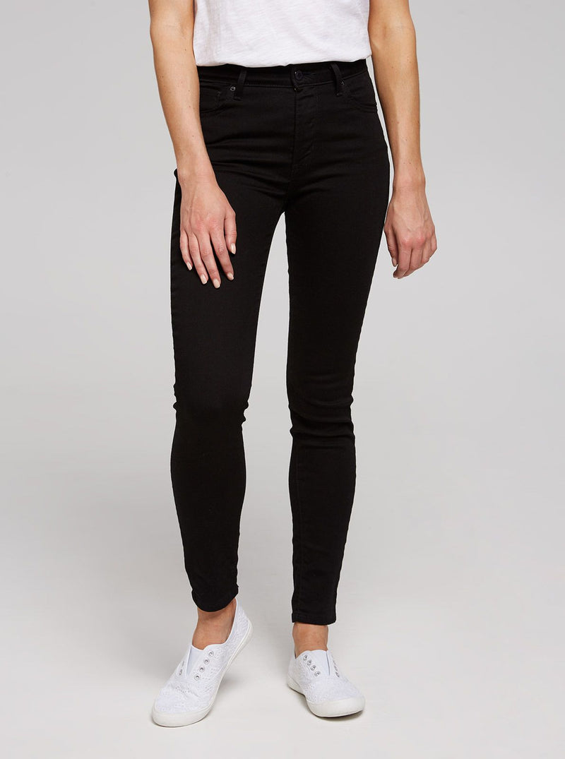 721 High Rise Skinny - Black Sheep