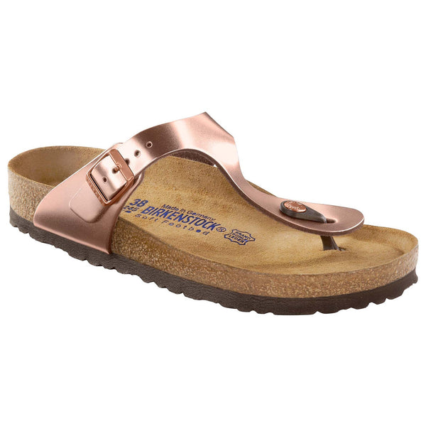 Gizeh Soft Footbed- Metallic Copper