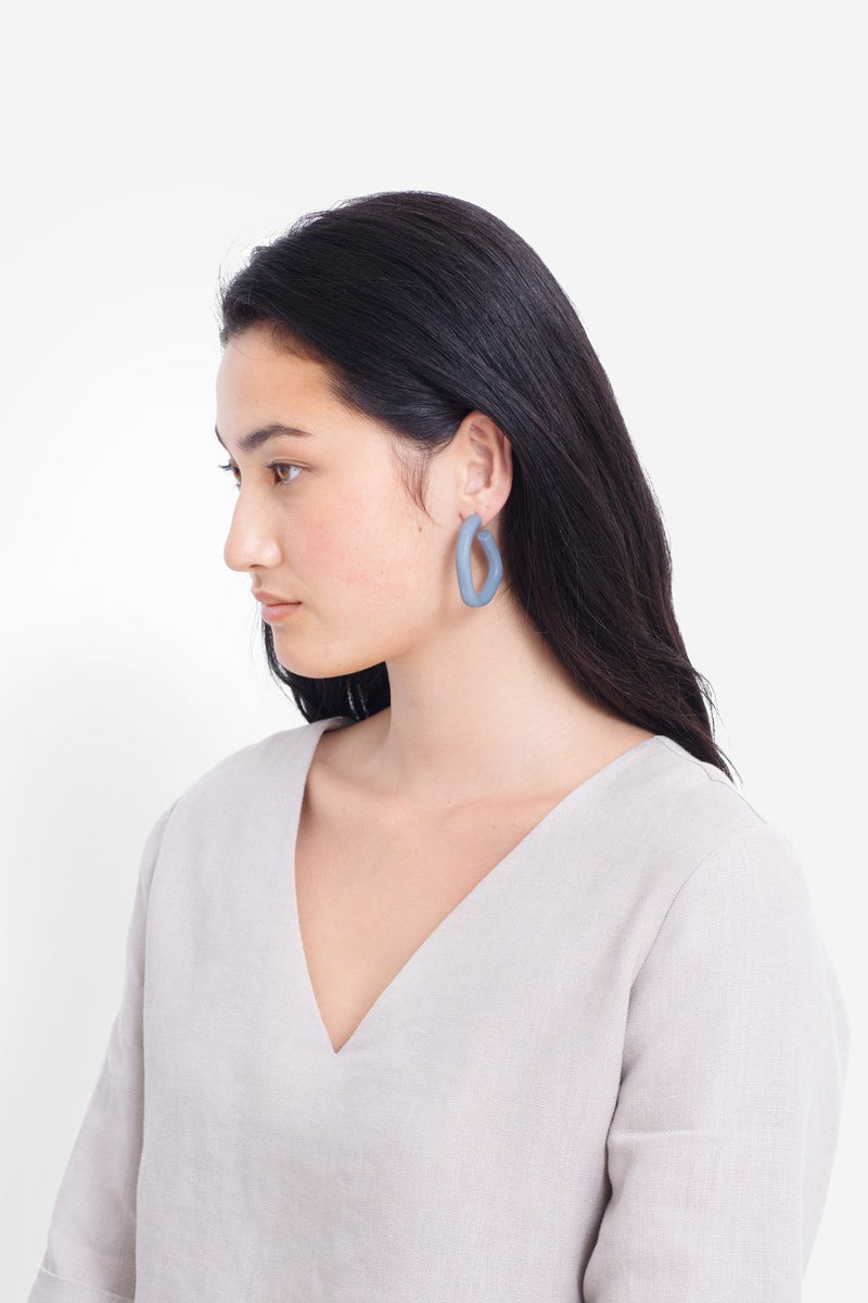 Hollie Earrings - White