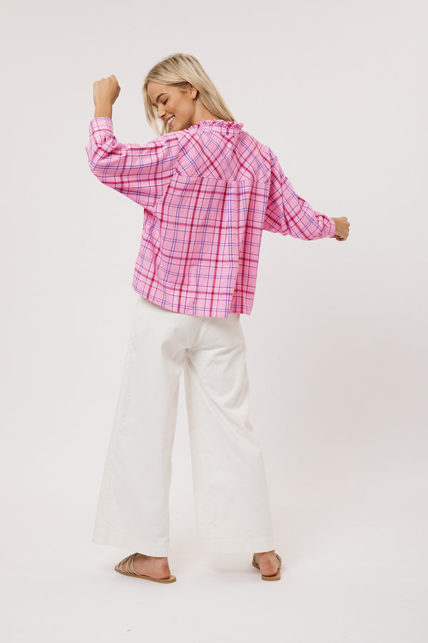 Bella Shirt - Pink