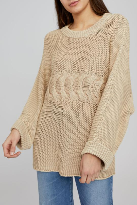 Cruz Cable Knit - Cream