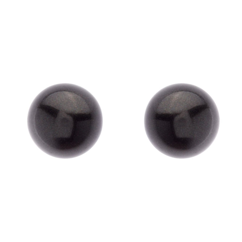 Black Pearl Stud 12mm