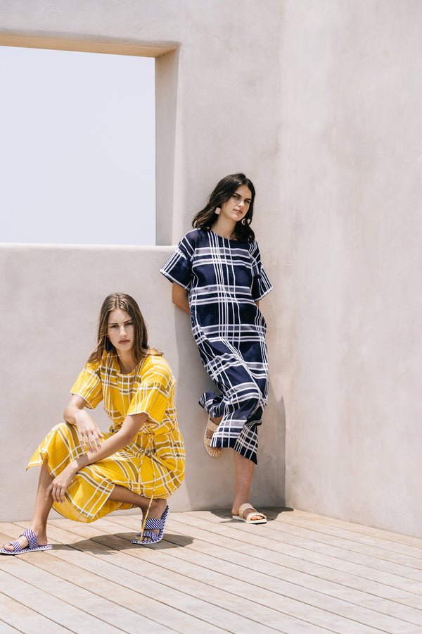 Janeke Plaid Dress