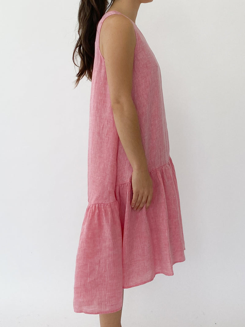 Phoebe Dress - Cherry
