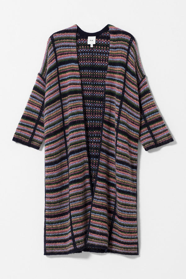Lena Cardigan - Multi Check