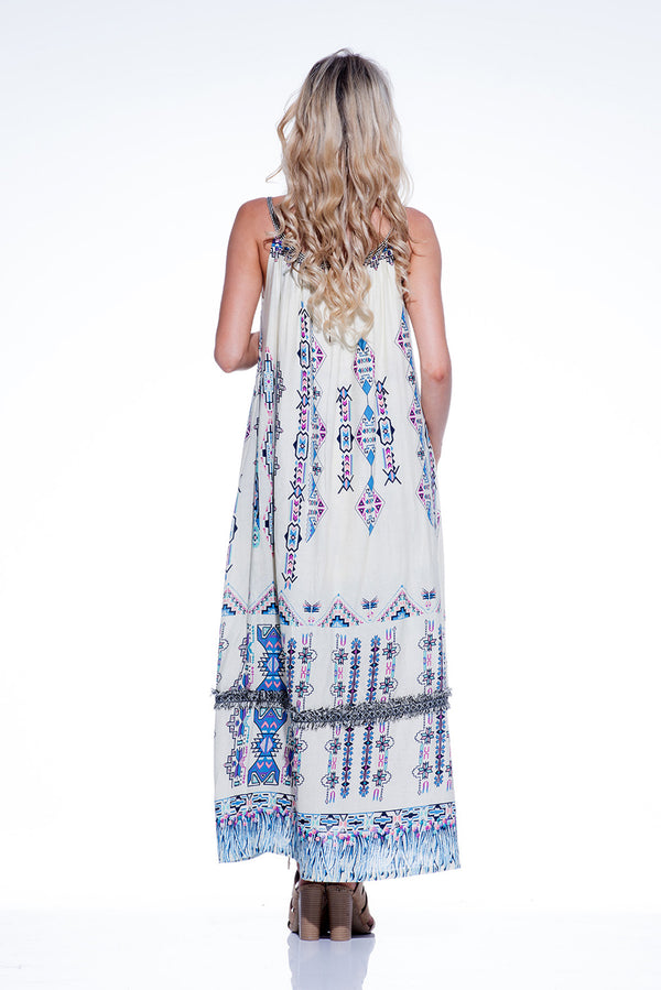 Vanessa Maxi Dress - Divinity Print