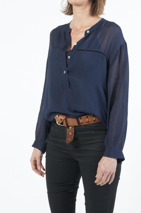 Felicity Ladder Stitch Blouse
