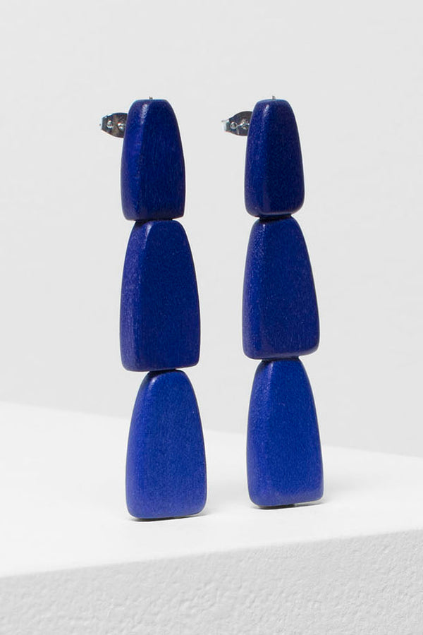 Gruva 3 Drop Earrings