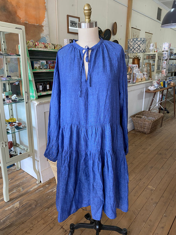 Amelia Dress - Denim