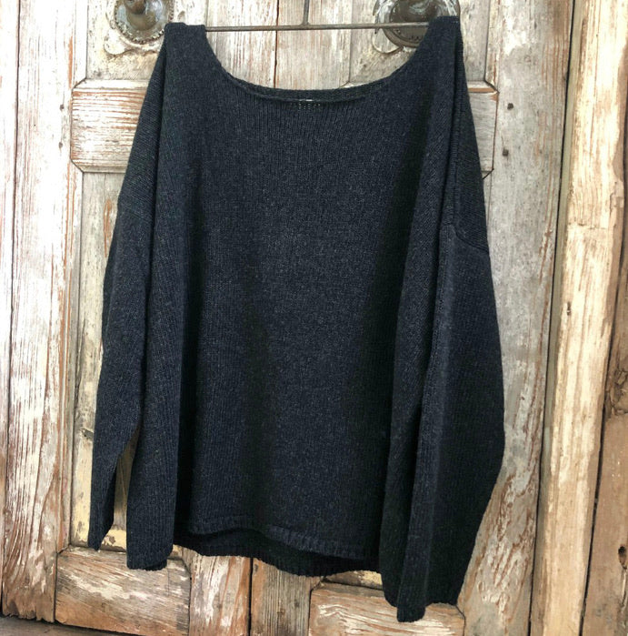 Boyfriend Jumper - Black