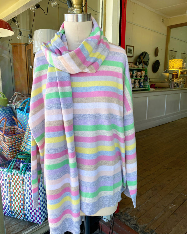 Van Gough Cashmere Sweater - Pastel