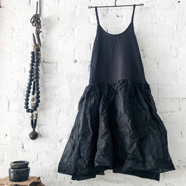Tutu Slip Short - Black