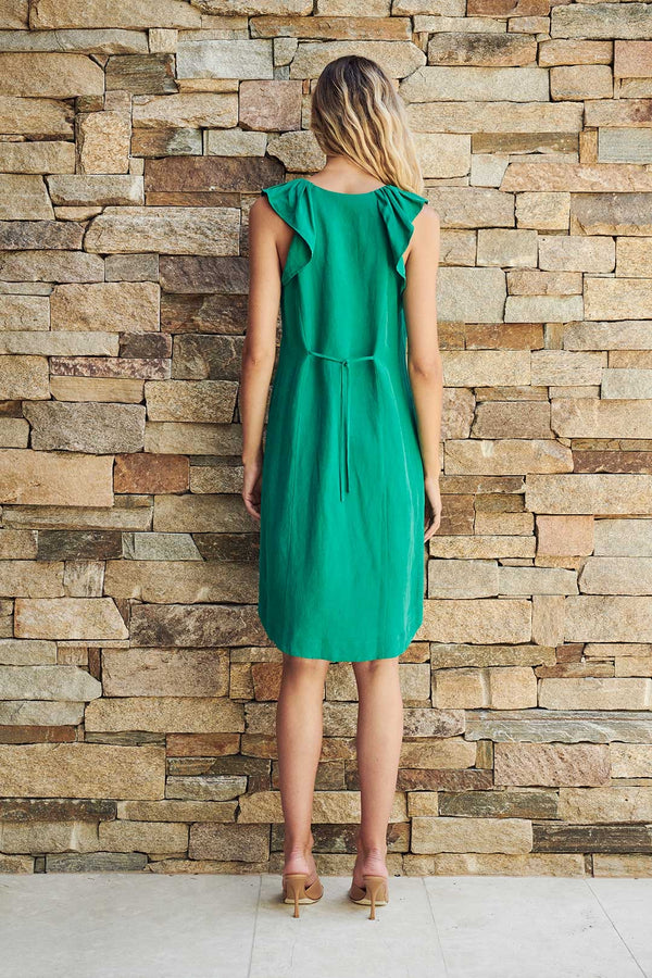 Leona Dress in Green
