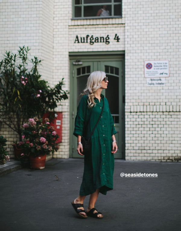 Oversized Dress - Green