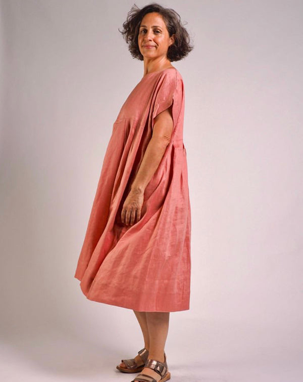 Sibella Dress - Salmon